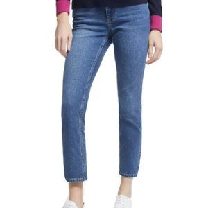 Boden Jeans Straight Leg Cropped Ankle  Denim 6R